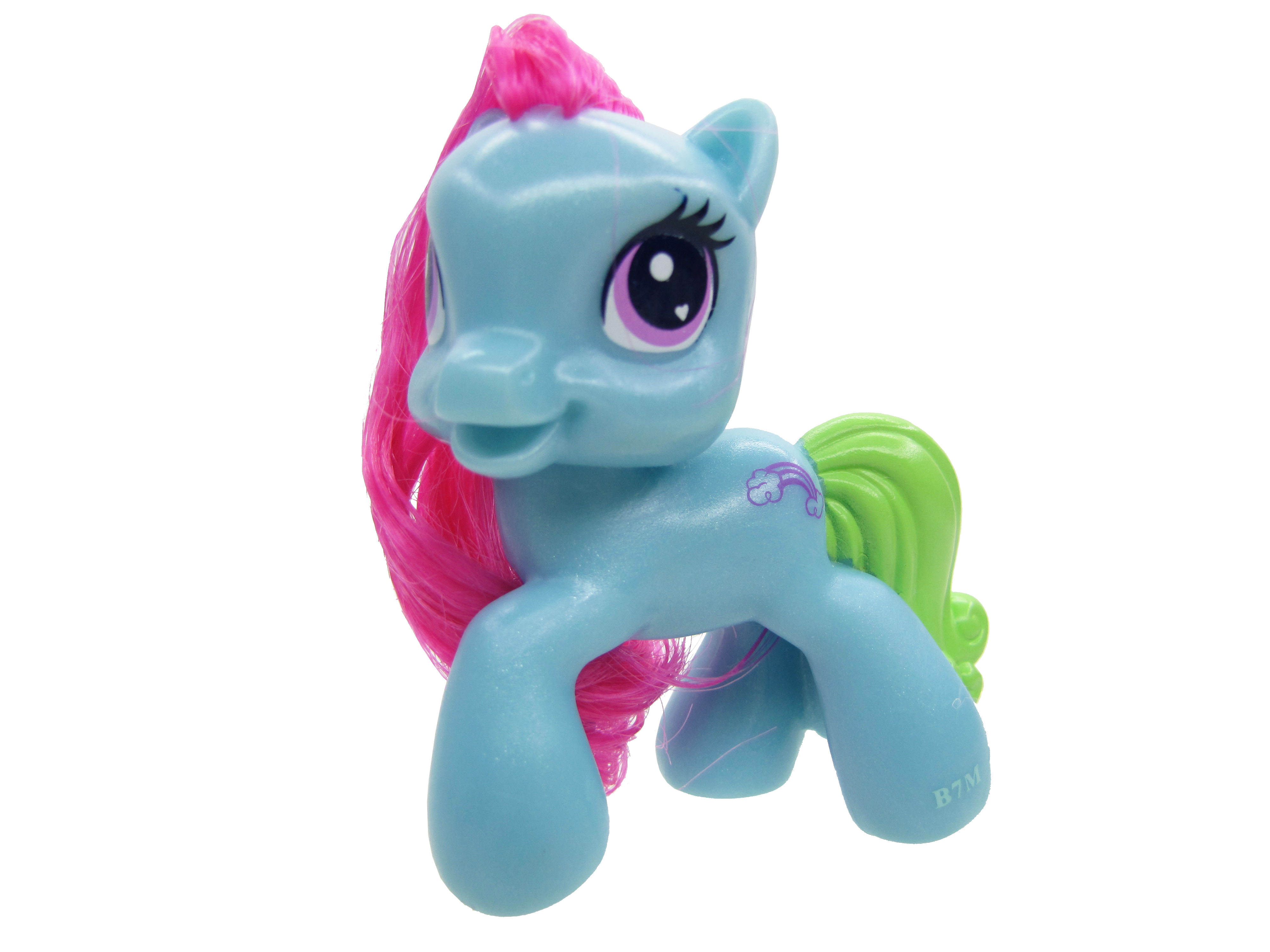 2009 My Little Pony McDonalds Rainbow Dash Complete